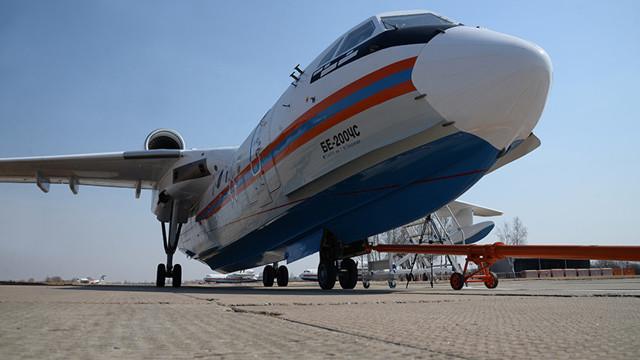 Самолет амфибия Бе-200: характеристики