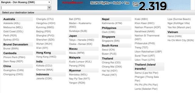 Авиакомпании Тайланда: список