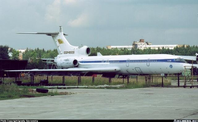 Самолет Ту-155: фото
