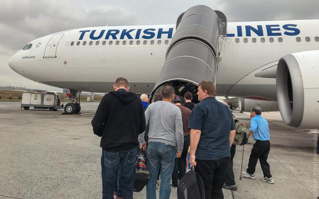 Турецкие авиалинии: отзывы пассажиров