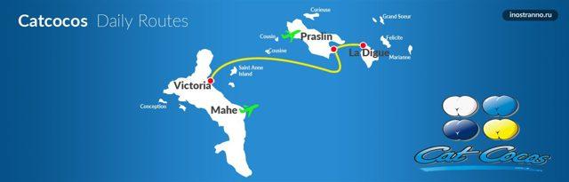 Международный аэропорт Сейшелы: название