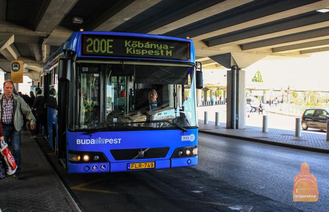 Как добраться из аэропорта Будапешта до центра города