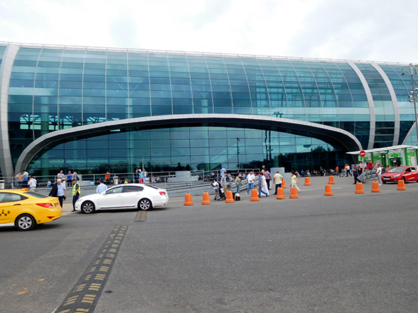 Самый большой аэропорт в России и Москве