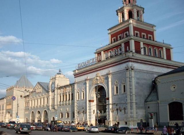 Как добраться с Казанского вокзала до Домодедово