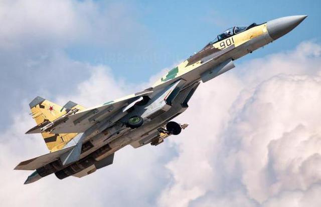 Самолет Су-35: технические характеристики