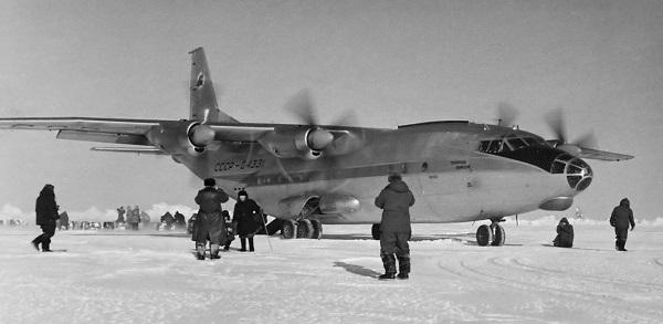 Самолет Ан-10: фото салона
