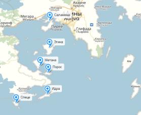 Сколько лететь до Греции из Нижнего Новгорода