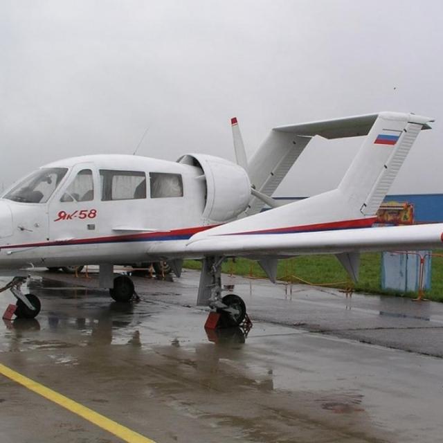 Самолет Як-58: фото