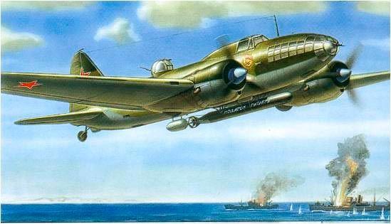 Самолет Ил-4: фото бомбардировщика