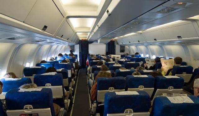 Боинг 767-200 Ютэйр: схема салона