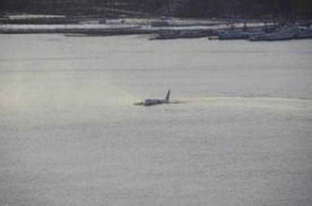 Аварийная посадка А320 на Гудзон
