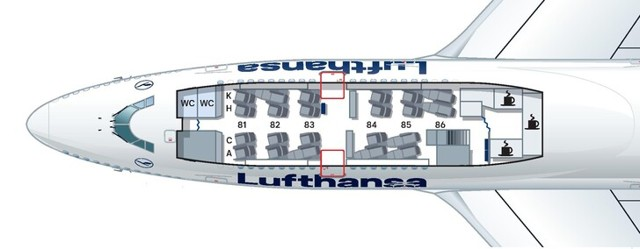 Боинг 744 авиакомпании Россия: схема салона, лучшие места