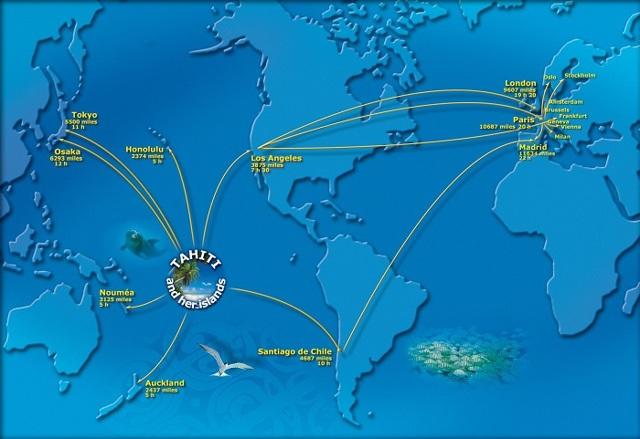 Сколько лететь до Бора-Бора из Москвы прямым рейсом