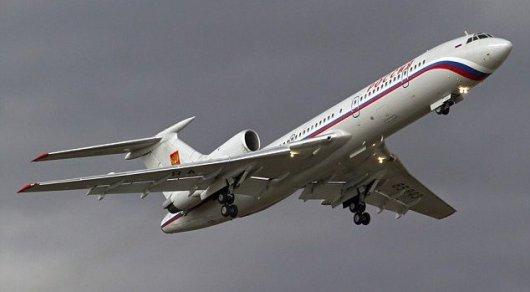 Крушение Ту-154 над Черным морем