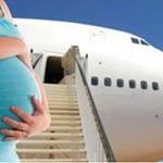 Можно ли беременным летать на самолете, на каком сроке можно