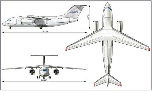 Самолет Ан-158: фото, характеристики