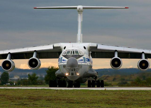Самолет Ил-76: технические характеристики, фото